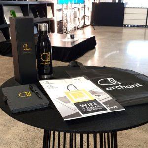 event merchandise branded